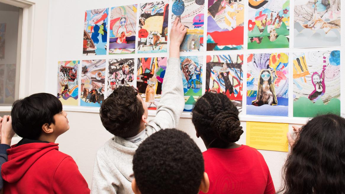 Kunstprojecten met kinderen